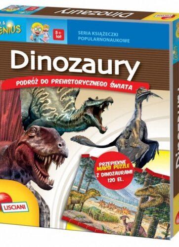Zdjęcie Książka I'm a Genius Dinozaury - producenta LISCIANI GIOCHI