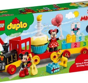 Zdjęcie LEGO 10941 DUPLO Urodzinowy pociąg myszek Miki i Minnie - producenta LEGO