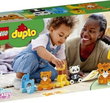 Zdjęcie LEGO 10955 DUPLO Pociąg ze zwierzątkami - producenta LEGO