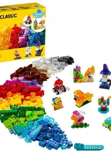 Zdjęcie LEGO 11013 CLASSIC Kreatywne przezroczyste klocki - producenta LEGO
