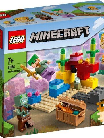 Zdjęcie LEGO 21164 MINECRAFT Rafa koralowa - producenta LEGO