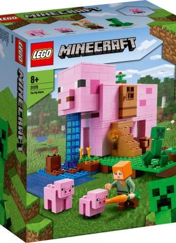 Zdjęcie LEGO 21170 MINECRAFT Dom w kształcie świni - producenta LEGO