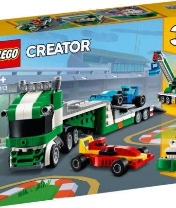 Zdjęcie LEGO 31113 CREATOR Laweta z wyścigówkami - producenta LEGO