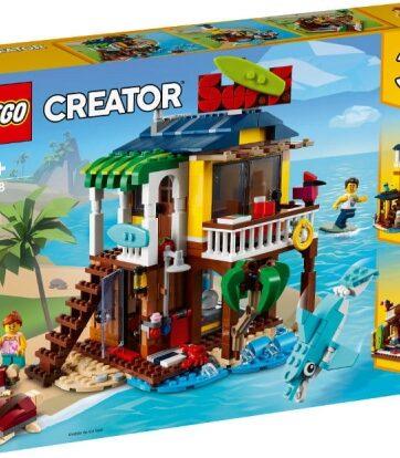 Zdjęcie LEGO 31118 CREATOR Domek surferów na plaży - producenta LEGO
