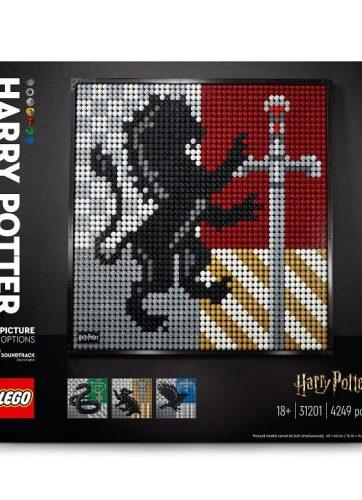 Zdjęcie LEGO 31201 ART HARRY POTTER Herby Hogwartu - producenta LEGO