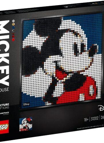 Zdjęcie LEGO 31202 ART Disney Mickey Mouse - producenta LEGO