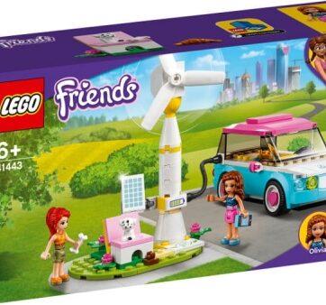 Zdjęcie LEGO 41443 FRIENDS Samochód elektryczny Olivii - producenta LEGO