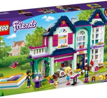 Zdjęcie LEGO 41449 FRIENDS Dom rodzinny Andrei - producenta LEGO