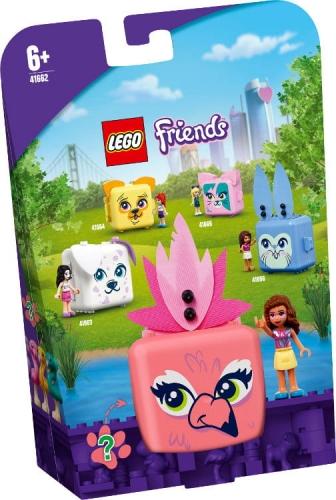 Zdjęcie LEGO 41662 FRIENDS Kostka Olivii z flamingiem - producenta LEGO