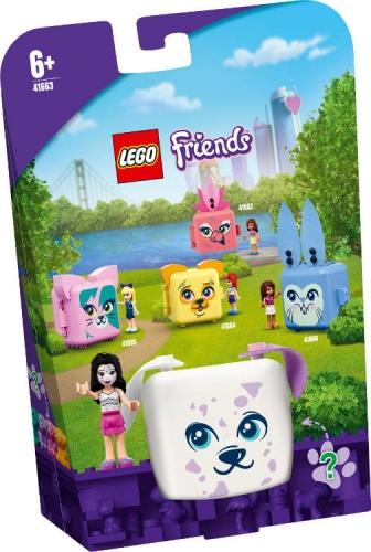 Zdjęcie LEGO 41663 FRIENDS Kostka Emmy z dalmatyńczykiem - producenta LEGO
