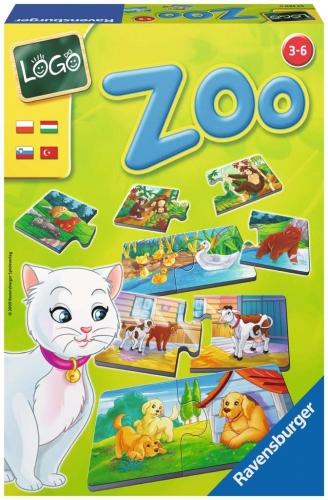 Zdjęcie LOGO - Zoo gra układanka - producenta RAVENSBURGER