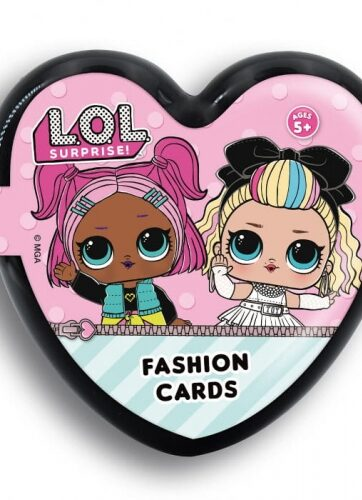 Zdjęcie LOL Surprise Fashion Cards - Czarne serduszka - producenta LISCIANI GIOCHI