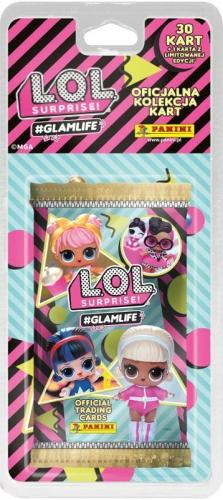 Zdjęcie LOL Surprise GLAMLIFE 30 kart+1 karta limitowana - producenta PANINI