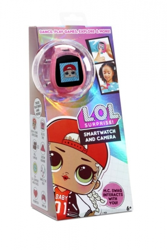 Zdjęcie LOL Surprise! Smartwatch z kamerą różowy - producenta MGA ENTERTAINMENT
