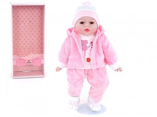 Zdjęcie Lalka 40cm w różowym ubranku Śpiewa i mówi po polsku - producenta ADAR