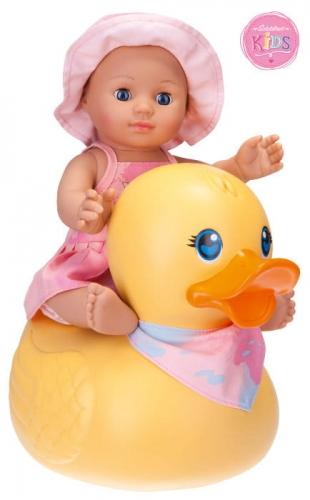Zdjęcie Lalka Kids Girl do kąpieli z pływającą kaczką 30cm SCHILDKROT - producenta SCHILDKROET