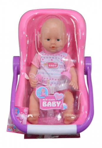 Zdjęcie Lalka New Born Baby - w podróży z nosidełkiem - Simba - producenta SIMBA