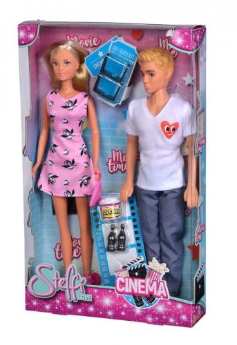 Zdjęcie Lalka Steffi i Kevin na randce w kinie - Simba - producenta SIMBA