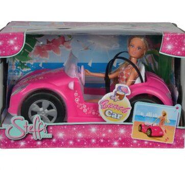 Zdjęcie Lalka Steffi w samochodzie - producenta SIMBA