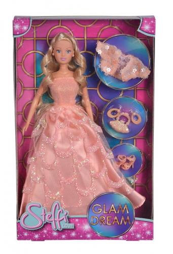 Zdjęcie Lalka Steffi w sukni balowej Glam Dream - producenta SIMBA