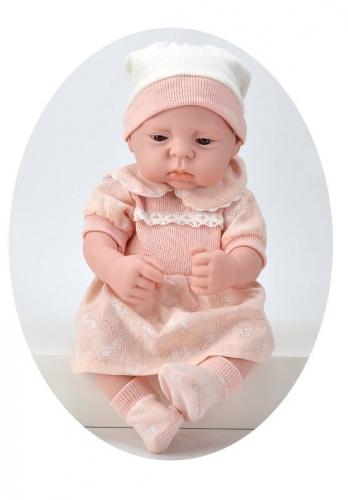 Zdjęcie Lalka gumowy bobas w morelowym ubranku - producenta ASKATO