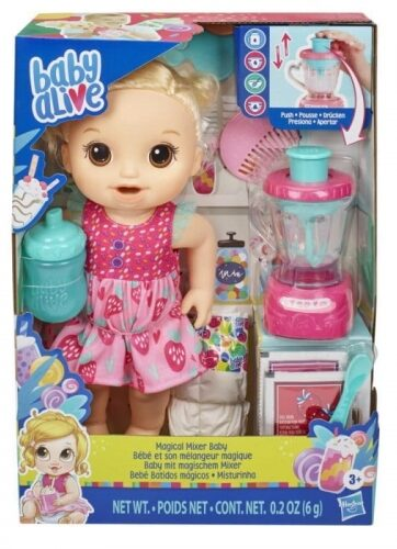 Zdjęcie Lalka z mikserem blondynka Magical Mixer Baby - Baby Alive - producenta HASBRO