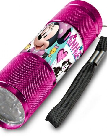 Zdjęcie Latarka metalowa LED Myszka Minnie - producenta KIDS EUROSWAN