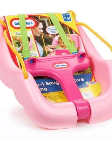 Zdjęcie Little Tikes Huśtawka dla dzieci z zabezpieczeniem różowa - producenta LITTLE TIKES