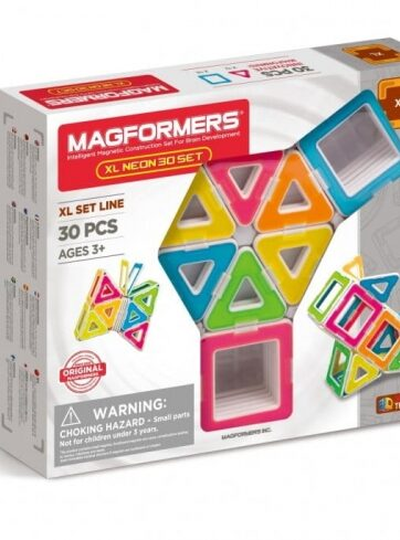 Zdjęcie MAGFORMERS XL Klocki magnetyczne Neon 30el - producenta DANTE
