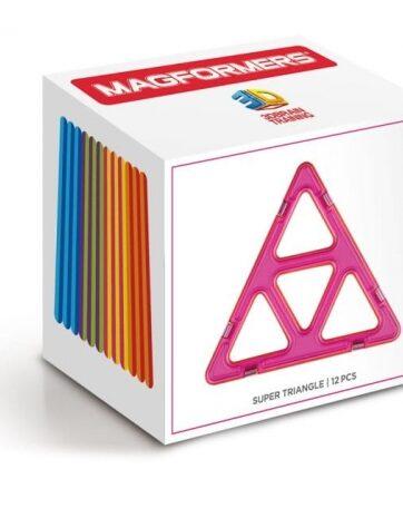 Zdjęcie MAGFORMERS klocki magnetyczne super trójkąty - producenta DANTE