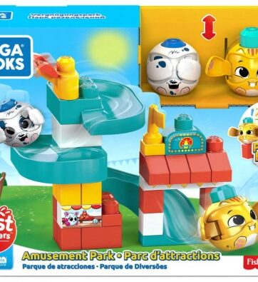 Zdjęcie MEGA BLOKS - Klocki A kuku Zjeżdżalnia Plac zabaw - producenta MATTEL