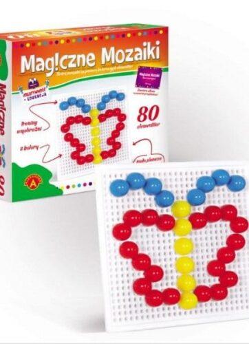 Zdjęcie Magiczne mozaiki Kreatywność i edukacja 80 elementów 0657 ALEXANDER - producenta ALEXANDER