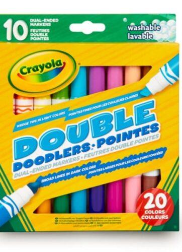 Zdjęcie Markery dwustronne 10/20 Doodlers Crayola - producenta CRAYOLA