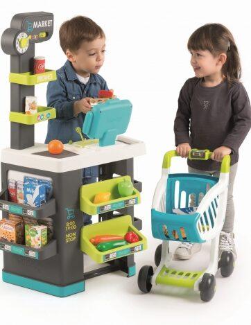Zdjęcie Market z wózkiem do zabawy - Smoby - producenta SMOBY