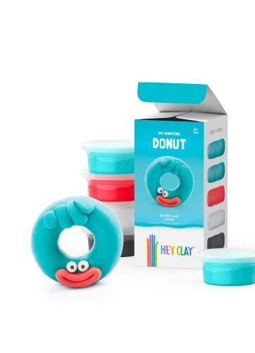 Zdjęcie Masa plastyczna Hey Clay Donut 4 kolory - producenta TM TOYS