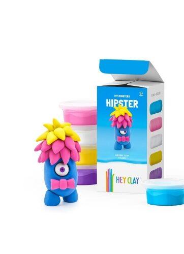 Zdjęcie Masa plastyczna Hey Clay Hipster 5 kolorów - producenta TM TOYS