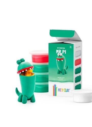 Zdjęcie Masa plastyczna Hey Clay Pi 3 kolory - producenta TM TOYS