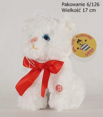 Zdjęcie Maskotka Kotek biały mały 03641 DEEF - producenta DEEF