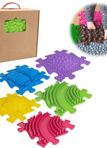 Zdjęcie Mata podłogowa sensoryczna 5 elementów - producenta ASKATO