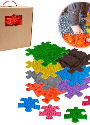 Zdjęcie Mata podłogowa sensoryczna 7 elementów + 4 małe - producenta ASKATO
