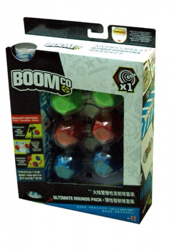 Zdjęcie Mattel BoomCo Kulki + tarcza - producenta MATTEL