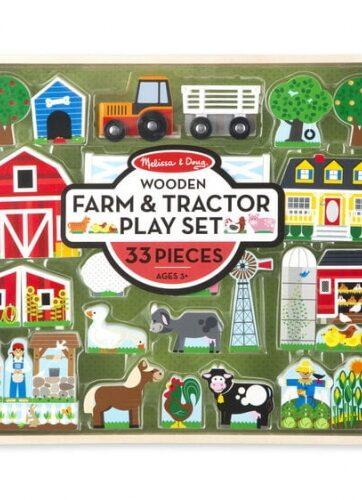 Zdjęcie Melissa & Doug - Drewniana Farma do układania - producenta MELISSA & DOUG