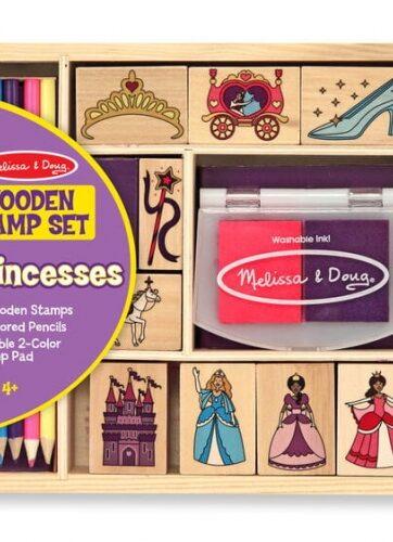 Zdjęcie Melissa & Doug - Drewniane pieczątki dla księżniczki - producenta MELISSA & DOUG