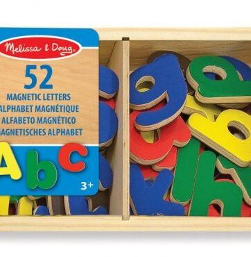 Zdjęcie Melissa & Doug - Magnetyczne drewniane litery w skrzyneczce - producenta MELISSA & DOUG