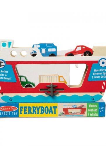 Zdjęcie Melissa & Doug - drewniany prom z autkami Ferryboat - producenta MELISSA & DOUG