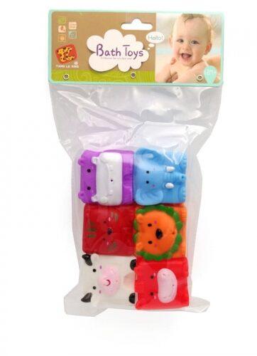 Zdjęcie Miękkie kostki do kąpieli zwierzątka - producenta ASKATO