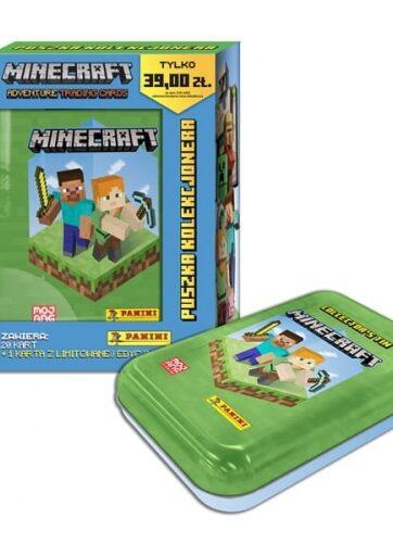 Zdjęcie Minecraft Karty Puszka kolekcjonera - producenta PANINI