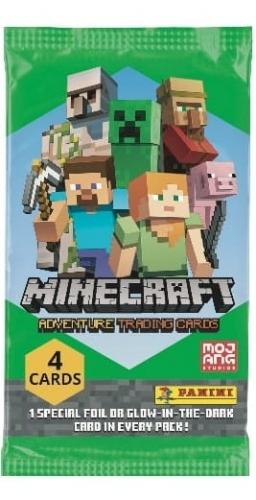 Zdjęcie Minecraft Saszetka z 4 kartami - producenta PANINI