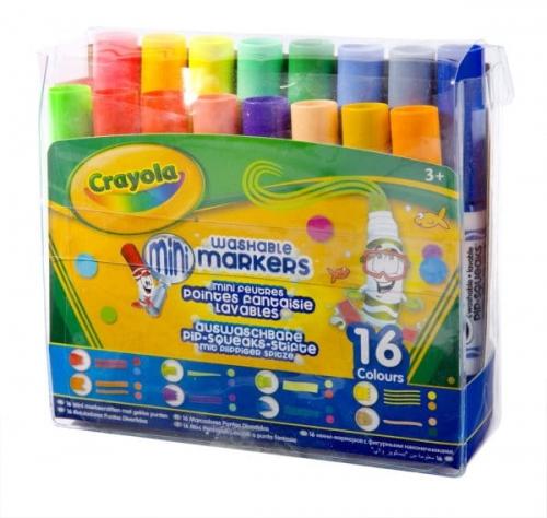 Zdjęcie Mini markery 16 kolorów - Crayola - producenta CRAYOLA
