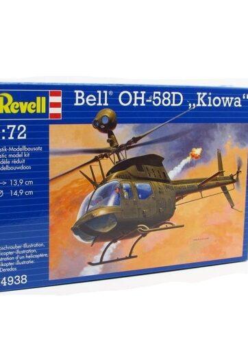 "Zdjęcie Model do sklejania Helikopter REVELL 1:72 04938 Bell OH-58D ""Kiowa"" - producenta REVELL"